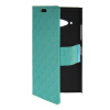 MOONCASE Slim Leather Side Flip Wallet Card Slot Pouch with Kickstand Shell Back чехол для Nokia Lumia 730 Mint Green защитная пленка для мобильных телефонов 3pcs nokia lumia 730 735