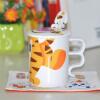 Disney Disney керамические чашки кружки чашки кофе чашка с крышкой ложкой Joel (Пятачок) чашки