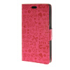 все цены на MOONCASE Magic Girl lovely Flip Pouch Card Holster PU Leather Wallet чехол для HTC Desire 320 Hot pink онлайн