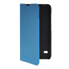 MOONCASE Slim Leather Side Flip Wallet Card Slot Pouch with Kickstand Shell Back чехол для Huawei Ascend Y550 Blue mooncase slim leather side flip wallet card slot pouch with kickstand shell back чехол для samsung galaxy a7 mint green