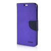 MOONCASE Cross pattern Leather Side Flip Wallet Card Slot Pouch Stand Shell Back ЧЕХОЛДЛЯ Samsung Galaxy A7 Purple mooncase classic cross pattern leather side flip wallet card slot pouch stand shell back чехолдля htc desire 816 hot pink