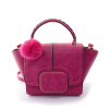 Женская сумка кожа женщин сумки сумка ретро моды вязание шерсти шарик битой сумка сумки женщин сумки