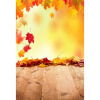 Fire Maple Leaf Photo Backdrop 5 * 7FT Vinyl Fabric Cloth Цифровая печать Свадебное фото Фон S-3136 белый весенний фон 5 7ft vinyl fabric cloth цифровая печать photo studio backdrop s 3044