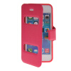 MOONCASE View Window Leather Side Flip Pouch Stand Shell Back ЧЕХОЛ ДЛЯ Apple iPhone 5C Hot pink mooncase view window leather side flip pouch stand shell back чехол для apple iphone 4 4s white