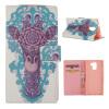 MOONCASE ЧЕХОЛДЛЯ Huawei Honor 7 Flip PU Leather Fold Wallet Card Slot Kickstand Back [Pattern series] /a04 velcro business card lanyard pu leather for huawei honor 8 pro
