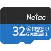Карта памяти Netac 32G Class10 для карт памяти TF (micro-SD) joanne jooan видеонаблюдение карты 32g памяти посвященное хранение пожизненной гарантия совместимости карт tf