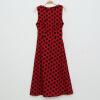 Lovaru ™Высокое качество +2015 Лето Женщины О-образным вырезом платья в горошек Мода Sexy рукавов бальное платье платье Vestidos Горячие Продажа бальное платье