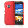 MOONCASE Hard Rubberized Rubber Coating Devise Back ЧЕХОЛДЛЯ HTC One M9 Red