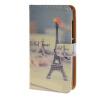 MOONCASE ЧЕХОЛ ДЛЯ Microsoft Lumia 532 Eiffel Tower Pattern Leather Flip Wallet Holder with Kickstand Back A09 чехол armor x flip full для microsoft lumia 532 dual белый