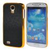 MOONCASE Galaxy S4 Дело Золото Chrome Шкала фильмы стиль Твердый переплет чехол для Samsung Galaxy i9500 S4 черный чехол iridium для samsung galaxy s4 i9500 черный