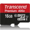 Карта памяти Transcend 16GB UHS-I Class10 TF (Micro SDHC) (скорость чтения 60 Мбит / с) карта памяти sdhc micro sony sr 32uya