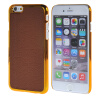 MOONCASE Litchi Skin золото Chrome Hard Back чехол для Cover Apple iPhone 6 (4.7) браун mooncase litchi skin золото chrome hard back чехол для cover lg g4 браун