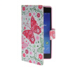 MOONCASE Pattern Style Leather Side Flip Wallet Card Slot Pouch Stand Shell Back ЧЕХОЛДЛЯ Sony Xperia Z2 mooncase classic cross pattern leather side flip wallet card pouch stand soft shell back чехол для sony xperia e1 hot pink