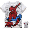 2018 Детская футболка Бэтмен хлопок с короткими рукавами футболки для мальчиков мультфильм печати мальчиков Тройная мода детская футболка детская футболка классическая унисекс printio мачете