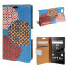 цена на MOONCASE Sony Xperia Z5 Compact ( Z5 Mini ) ЧЕХОЛ ДЛЯ Flip Leather Foldable Stand Feature [Pattern series] /a12