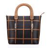 Большая способность женщин кожаные сумки Шелл плед Сумки известная марка Женщины Сумка Сумки Сумка дизайнер сумочку кожаные сумки женские распродажа Кожаные сумки