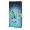 MOONCASE Sony Xperia М4 чехол Голубая бабочка кожаный бумажник флип Слот для карты Кронштейн обложка чехол A 01 sony xperia m c1905 white