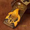 Чехол из натуральной кожи для iPhone 6 6S Plus Чехол для змеиной головки Задняя крышка Половинная упаковка для iPhone 7 8 Plus X Back Cover printio чехол для iphone 6 plus глянцевый
