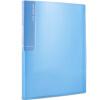 Deli (гастроном) 5014 цвет полупрозрачным зеркалом ультра-страничный буклет A4 брошюра документ / страница темно-синий бумажный мешок -30 эффективные гастроном 7723 тепловой факс бумажный пакет 210мм 20м 1