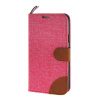 MOONCASE Galaxy S5 , Leather Wallet Flip Card Holder Pouch Stand Back ЧЕХОЛ ДЛЯ Samsung Galaxy S5 Hot pink чехол для samsung galaxy s5 printio москва