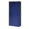 MOONCASE Гладкая кожа PU кожаный чехол бумажник флип карты отойти чехол для Huawei Ascend Y635 синий ecostyle shell чехол флип для huawei ascend d2 black