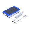 50000mAh Портативный Солнечное зарядное устройство Супер Dual USB Внешняя батарея банк силы Голубой авто семерку за 50000