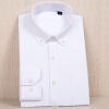 Мужские рубашки Оксфорд Мужские с длинным рукавом Хлопок вскользь