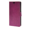 MOONCASE Smooth PU Leather Flip Wallet Card Slot Bracket Back чехол для Samsung Galaxy J5 Purple