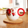 [Супермаркет] Юн Тан Джингдонг Лавендер аромат костяного фарфора чашки офис чашка офиса стеклянная чашка молока Кубок Марк фэн цин тан хорошо белого фарфора делятся на чашки комплекс