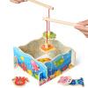 Завтра (топбрайт) бой дети рыбалка игрушки головоломка 1 год 2 лет детские игрушки головоломка узел 2 0
