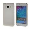 MOONCASE Жесткий Прорезиненные Резина Оболочка Вернуться Защитная крышка чехол для Samsung Galaxy J1 белый
