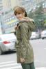 Женщины теплый длинное пальто капюшоном пальто из искусственного меха с капюшоном зима сгущает стеганые Parka цена