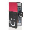 все цены на  MOONCASE Leather Side Flip Wallet Card Slot Pouch Stand Shell Back ЧЕХОЛДЛЯ Apple iPhone 5 5S Pink Black  онлайн
