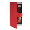 MOONCASE Slim Leather Side Flip Wallet Card Slot Pouch with Kickstand Shell Back чехол для HTC Desire Eye Red htc desire 650
