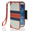 MOONCASE Fashion Leather Side Flip Wallet Card Slot Pouch Stand Back чехол для Samsung Galaxy S4 I9500 stylish flip open pu leather case w card slot holder for samsung galaxy s4 i9500 purple
