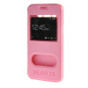 MOONCASE Samsung Galaxy J5 чехол для View Leather Flip Pouch Bracket Back Cover Pink mooncase samsung galaxy a7 чехол для view leather flip pouch bracket back cover pink
