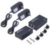 HDMI Extender Отправитель + приемник по одной категории 6 HD 196FT 60M 3D 1080p мужчина hdmi к мужчине позолоченные dv hd hdmi женский кабель адаптер разъема extender