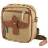 Сумки Billingham Pola на плечах Одноразовая камера (хаки / коричневый кожаный холст) сумки pola сумки