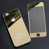 Премиум закаленное стекло экрана фильма протектор для Apple, iPhone 5 с задней Золотая новые закаленное стекло фильм гвардии протектор экрана для iphone 6 с 4 7
