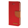 MOONCASE iPhone 5 / 5S , Leather Flip Wallet Card Holder Pouch Stand Back ЧЕХОЛ ДЛЯ Apple iPhone 5/ 5S Red чехол для iphone 5 5s газон арт ip5 053 chocopony