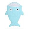 Детский спальный мешок Новорожденный акулы Sack Пеленальный Одеяло Коляски Детские постельные принадлежности