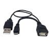 huayuan micro - USB - кабель USB - разъем кабеля с власти принимающей страны кабель red line classic micro usb 2м белый