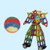 44Pcs Все магнитные строительные блоки Строительство Детские игрушки Образовательный блок Магнитные строительные блоки Набор игруш набор электронные блоки проектор