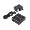 Мини 1080P HDMI к аудио-видео CVBS RCA адаптер HD Video Converter для HDTV DVD видеомагнитофона composite av cvbs 3rca to hdmi video converter adapter full hd 720p 1080p for hdtv vcr dvd vhs ps3 xbox white new