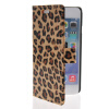 MOONCASE Slim Leather Side Flip Wallet Card Slot Pouch Stand Back чехол для Apple iPhone 6 ( 4.7 inch ) Leopard for iphone 6s 6 4 7 inch leopard pattern wallet leather cover with stand beige