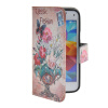 MOONCASE Pattern Style Leather Side Flip Wallet Card Slot Pouch Stand Shell Back ЧЕХОЛДЛЯ Samsung Galaxy S5 Mini камуфляжный защитный чехол дляsamsung galaxy s5