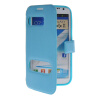 MOONCASE View Window Leather Side Flip Pouch Hard board Shell Back чехол для Samsung Galaxy Note 2 N7100 Blue mooncase view window leather side flip pouch hard board shell back чехол для samsung galaxy note 2 n7100 hot pink