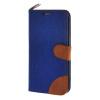 MOONCASE Galaxy S6 Edge , Leather Wallet Flip Card Holder Pouch Stand Back ЧЕХОЛ ДЛЯ Samsung Galaxy S6 Edge Dark blue аксессуар чехол samsung sm g920 galaxy s6 flip wallet blue ef wg920plegru