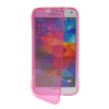 MOONCASE Flip Wallet Soft Gel TPU Silicone Back Shell ЧЕХОЛ ДЛЯ Samsung Galaxy S5 I9600 Hot pink mooncase soft silicone gel side flip pouch hard shell back чехол для samsung galaxy s6 hot pink