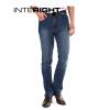 INTERIGHT удобно помещается гетеросексуальных мужчин джинсы синие джинсы 30 ярдов S джинсы